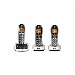 BT 4600 Big Button Cordless Phone Trio Handset