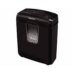 Fellowes Powershred 3C 6 Sheet Cross Cut Shredder
