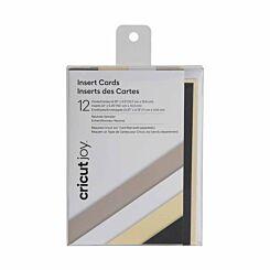 Cricut Joy Insert Cards Pack of 12 Neutrals