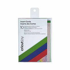 Cricut Joy Insert Cards Pack of 10 Rainbow Scales