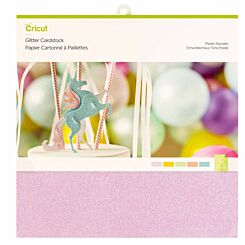 Cricut Pastels Glitter Cardstock