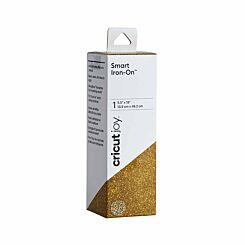 Cricut Joy Smart Iron On 5.5 x 19 inch Glitter Gold