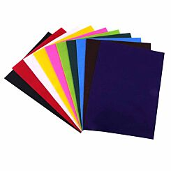Dovecraft A4 Felt Sheets Pack of 10 Assorted