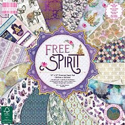 First Edition 12x12 Free Spirit Premium Paper Pad