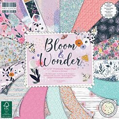 First Edition 12x12 Bloom and Wonder Premium Paper Pad
