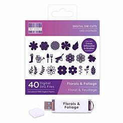 First Edition Digital Die Florals and Foliage