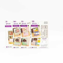 Crafters Companion Gemini Stamp and Die Peek-A-Boo Pet Bundle