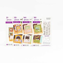 Crafters Companion Gemini Stamp and Die Peek-A-Boo Safari Bundle