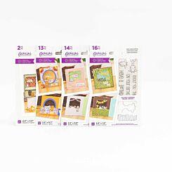 Crafters Companion Gemini Stamp and Die Peek-A-Boo Safari Bundle