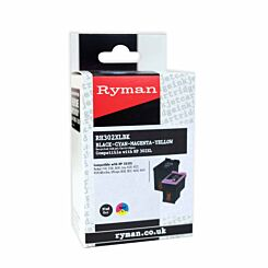Ryman RH320XLBLK Multi HP 302XL Compatible Ink Cartridge