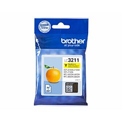 Brother LC3211Y Yellow Original Ink Cartridge