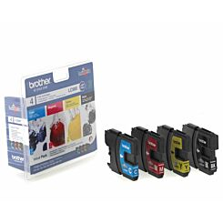 Brother LC980 Ink Cartridge Pack of 4
