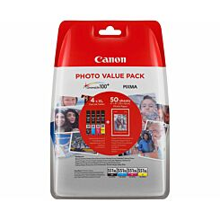 Canon CLI-551XL Photo Value Pack Original Ink Tanks