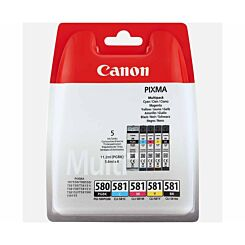Canon PGI-580/CLI-581 Multipack Original Ink Cartridges