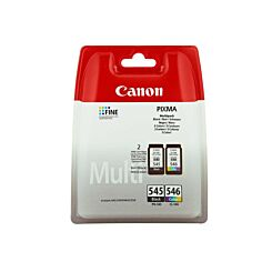 Canon Ink Cartridge PG-545/CL-546 Multipack Inkjet Cartridges