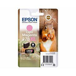 Epson 378XL Light Magenta Squirrel Original Ink Cartridge