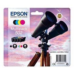 Epson 502 Multipack Binocular Original Ink Cartridge