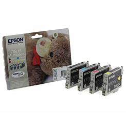 Epson T0615 Ink Cartridge Pack of 4