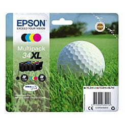 Epson 34XL Multipack Golf Ball Original Ink Cartridge