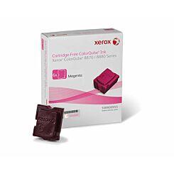 Xerox ColorQube 8870 Six Pack Magenta Original Solid Ink Cartridge-Free