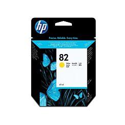HP 82 Dye Inkjet Cartridge Yellow