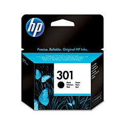 HP Inkjet Cartridge 301 Black