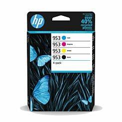 HP 953 CMYK Ink Cartridge Pack of 4