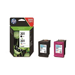 HP 301 Original Ink Cartridge Combo 2 Pack