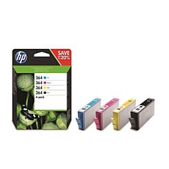 HP 364 CMYK Original Ink Cartridge Combo 4 Pack