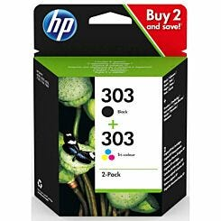 HP Ink Cartridge Combo Pack 303