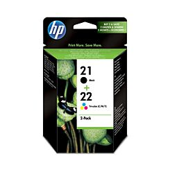 HP 21/22 Multipack Printer Ink Cartridge