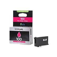 Lexmark 100 Colour Inkjet Cartridge Magenta