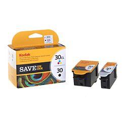Kodak Inkjet Cartridge 30B +30C Combo Pack