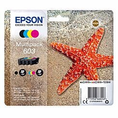 Epson Starfish 603 Multipack Original Ink Cartridge