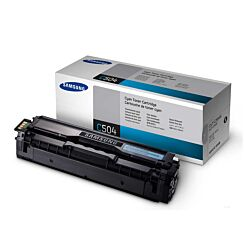 Samsung CLT-504S/ELS Inkjet Toner Cartridge Cyan