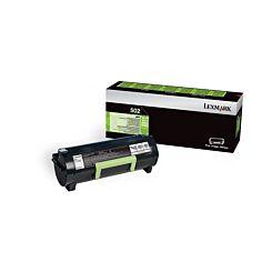 Lexmark 502 Black Original Toner Cartridge