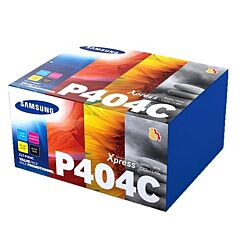 Samsung CLT-P404C Pack of 4 Toner Cartridges
