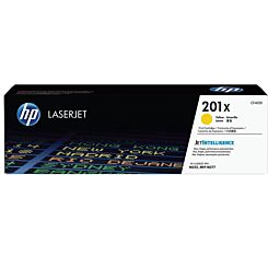 HP 201X High Yield Toner Yellow CF402X
