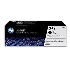 HP 35A Dual Pack Toner Black