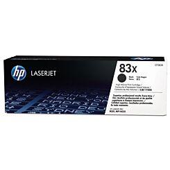 HP 83X High Yield Black Original LaserJet Toner Cartridge CF283X