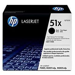 HP No51X High Yield Laser Ink Toner Cartridge