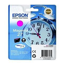 Epson 27 Alarm Clock Original Ink Cartridge Magenta