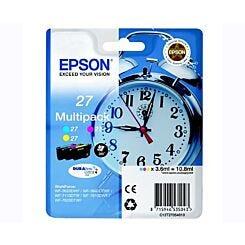 Epson T2705 Alarm Clock Ink Cartridge 3 Colour Pack