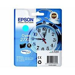 Epson 27XL Alarm Clock Original Ink Cartridge Cyan