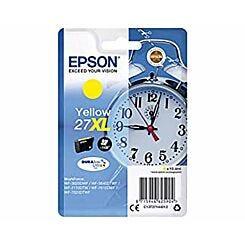 Epson 27XL Alarm Clock Original Ink Cartridge Yellow