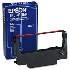 Epson Black and Red ERC 38 Ribbon