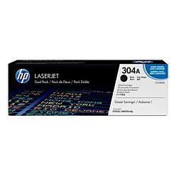 HP 304A Laserjet Printer Ink Toner Cartridge  Dual Pack CC530AD