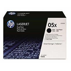 HP 05X Laserjet Toner Dual Pack CE505XD