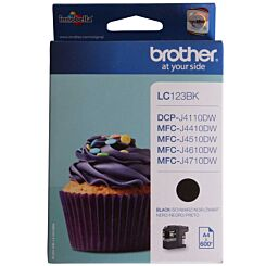 Brother LC123 Ink Black Cartridge