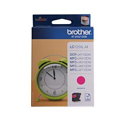 Brother LC125XL Ink Cartridge Magenta